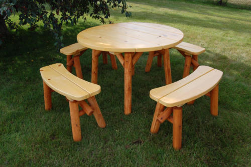 46 Inch Round Table Set