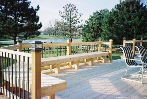 Cedar Decks and Benches