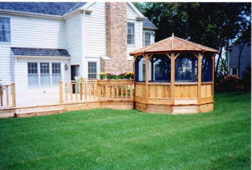 Custom-built Gazebo for Backyard