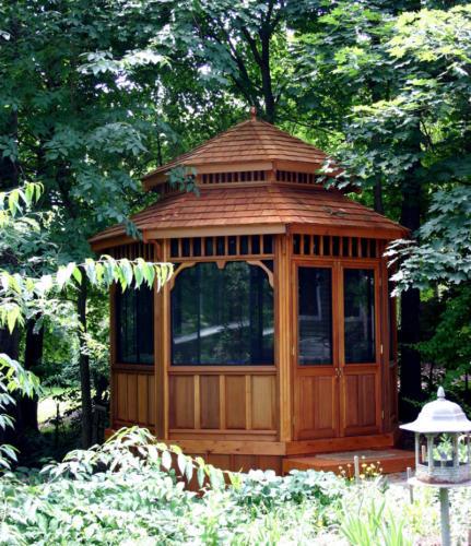 Durable Wooden Gazebo