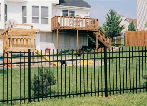 Classic Style Aluminum Fence