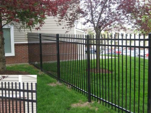 Genesis Style Aluminum Fence