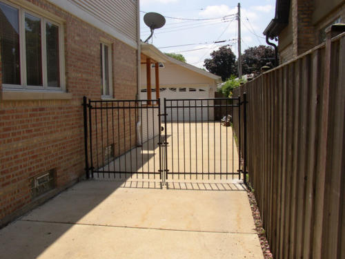 Aluminum Fence Gate for Driveway