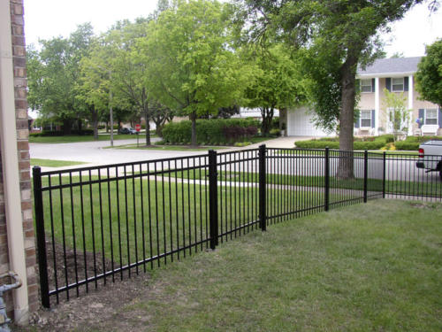 Majestic Aluminum Fence with Gate